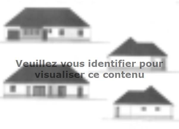 Plan de maison ETG_BW_GI_CA_110m2_3ch_P13345 : Vignette 2