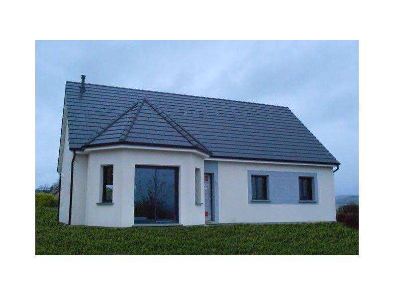 Modèle de maison ETG_BW_SG_CA_91m2_2ch_P14238 : Vignette 1