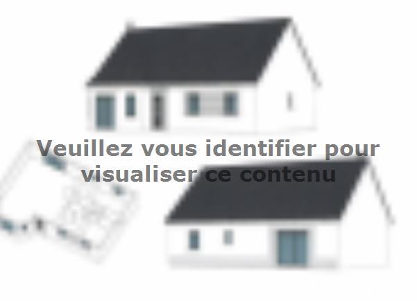 Plan de maison ETG_BW_SG_CA_91m2_2ch_P14238 : Vignette 2