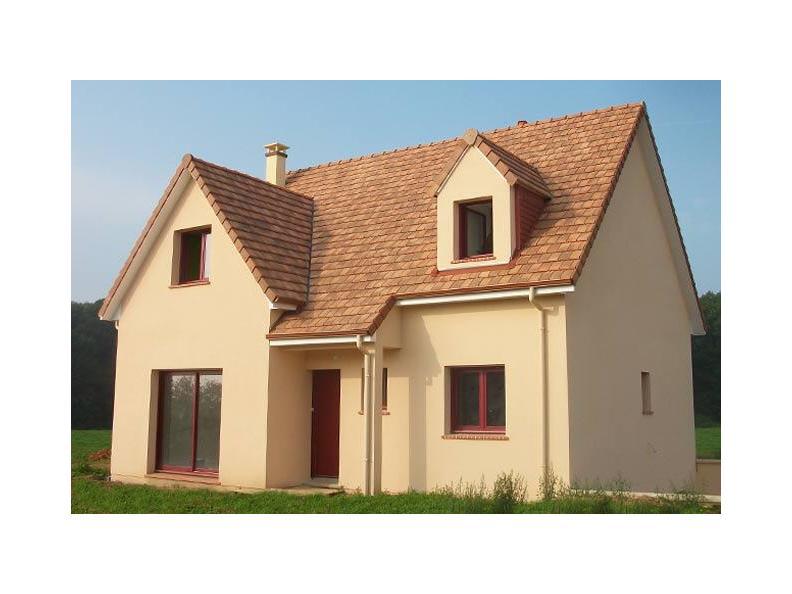 Modèle de maison ETG_L_SS_125m2_4ch_P13225 : Vignette 1