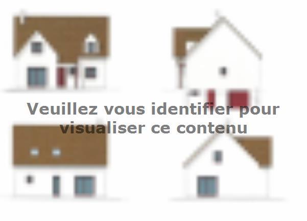 Plan de maison ETG_L_SS_125m2_4ch_P13225 : Vignette 1