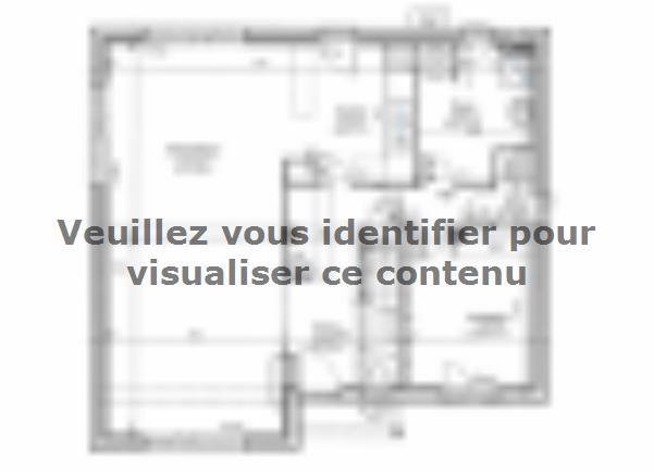 Plan de maison ETG_L_SS_125m2_4ch_P13225 : Vignette 3