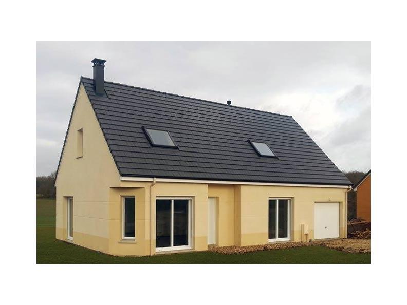 Modèle de maison ETG_R_CA_GI_73m2_1ch_P13310 : Vignette 1