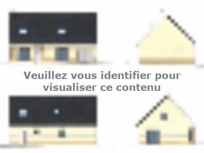 Plan de maison ETG_R_CA_GI_73m2_1ch_P13310 1 chambre  : Photo 1