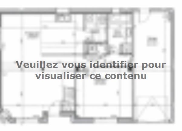 Plan de maison ETG_R_CA_GI_73m2_1ch_P13310 : Vignette 2