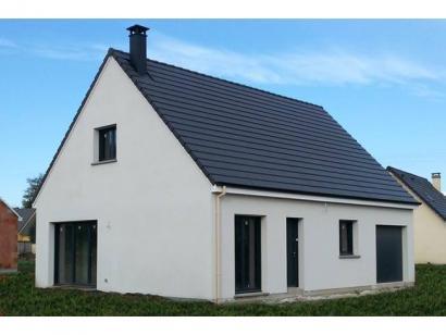 Modèle de maison ETG_R_GI_103m2_3ch_P13249 3 chambres  : Photo 1