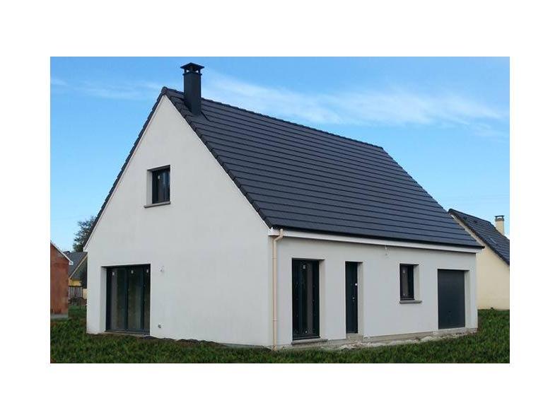 Modèle de maison ETG_R_GI_103m2_3ch_P13249 : Vignette 1