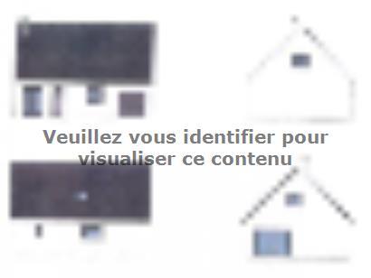 Plan de maison ETG_R_GI_103m2_3ch_P13249 3 chambres  : Photo 3
