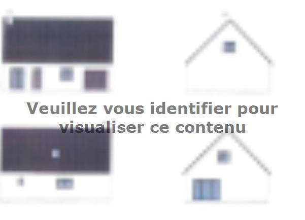 Plan de maison ETG_R_GI_103m2_3ch_P13249 : Vignette 3