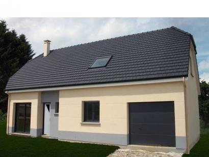 Modèle de maison ETG_R_GI_113m2_3ch_P13528 3 chambres  : Photo 1