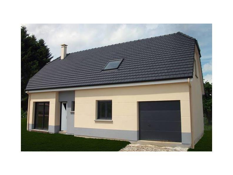 Modèle de maison ETG_R_GI_113m2_3ch_P13528 : Vignette 1