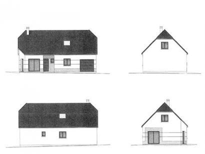 Plan de maison ETG_R_GI_113m2_3ch_P13528 3 chambres  : Photo 3