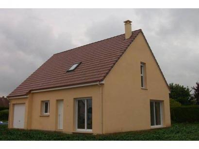 Modèle de maison ETG_R_GI_98m2_4ch_P13241 4 chambres  : Photo 1