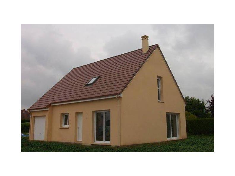 Modèle de maison ETG_R_GI_98m2_4ch_P13241 : Vignette 1
