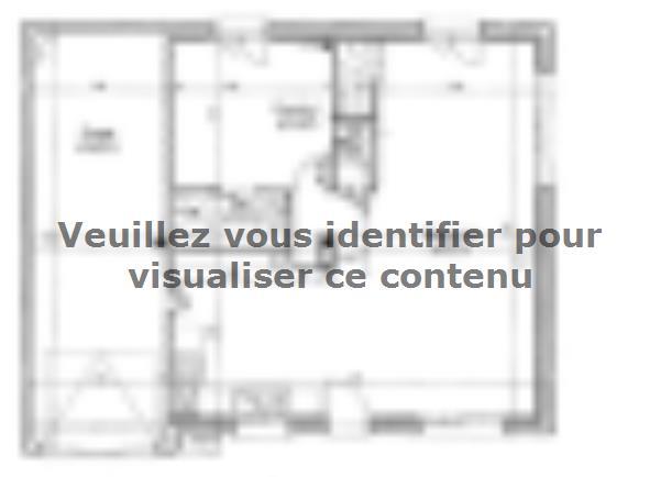 Plan de maison ETG_R_GI_98m2_4ch_P13241 : Vignette 1