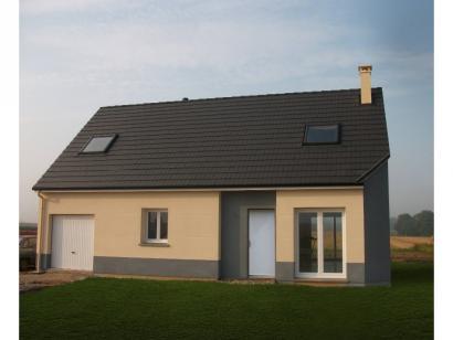 Modèle de maison ETG_R_GI_CA_61m2_1ch_P14082 1 chambre  : Photo 1