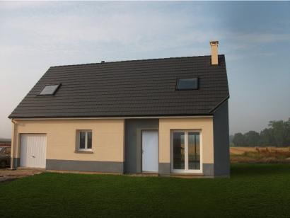 Modèle de maison ETG_R_GI_CA_61m2_1ch_P14082 1 chambre  : Photo 2