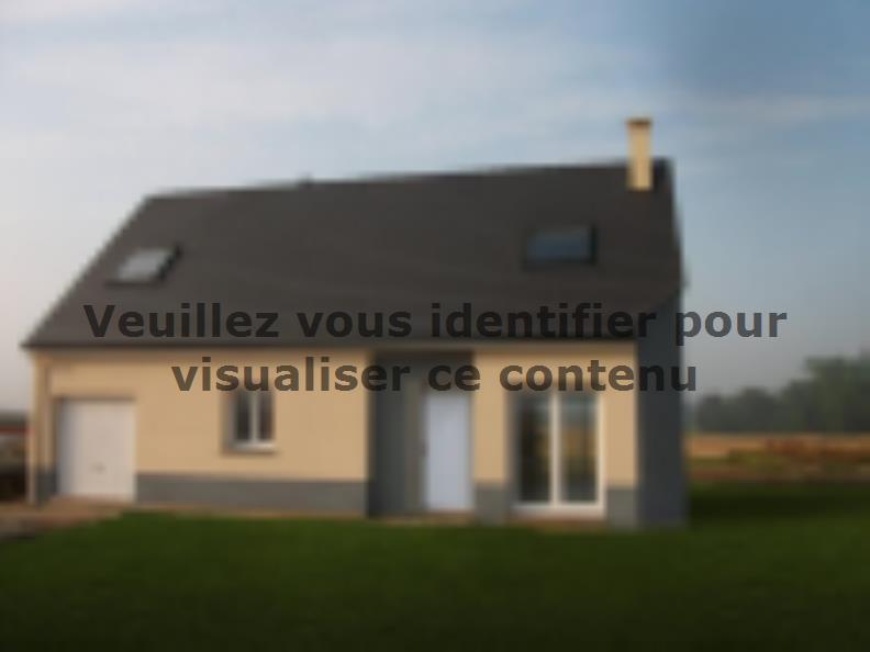 Modèle de maison ETG_R_GI_CA_61m2_1ch_P14082 : Vignette 2