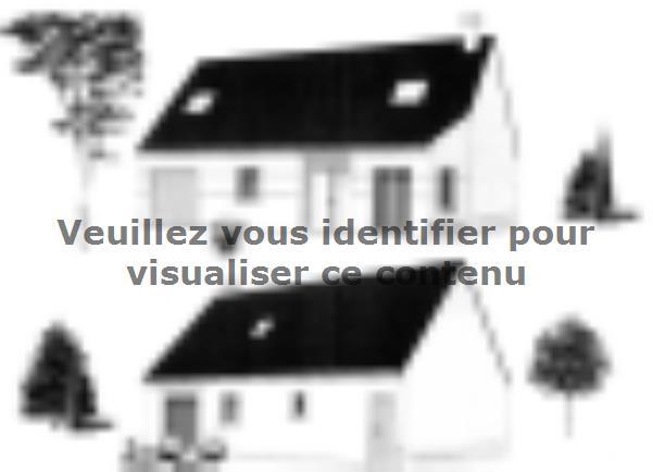 Plan de maison ETG_R_GI_CA_61m2_1ch_P14082 : Vignette 2