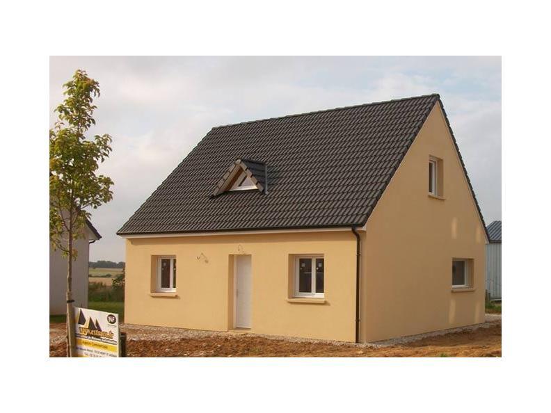 Modèle de maison ETG_R_SG_86m2_3ch_P13141 : Vignette 1