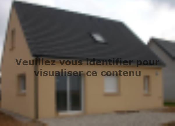 Modèle de maison ETG_R_SG_86m2_3ch_P13141 : Vignette 2