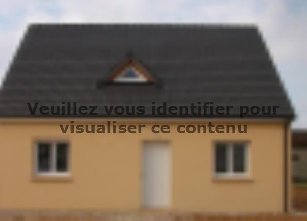 Modèle de maison ETG_R_SG_86m2_3ch_P13141 : Vignette 3