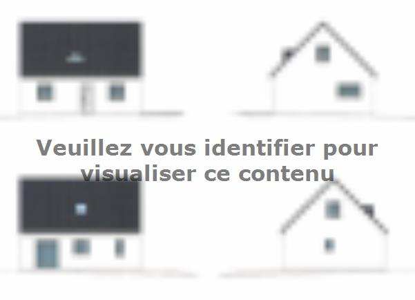 Modèle de maison ETG_R_SG_86m2_3ch_P13141 : Vignette 4