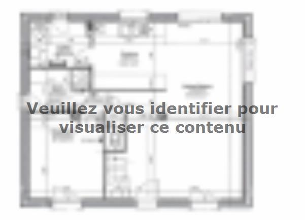 Plan de maison ETG_R_SG_86m2_3ch_P13141 : Vignette 1