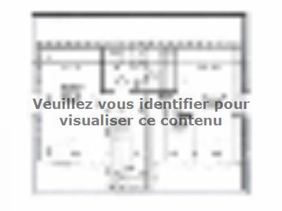 Plan de maison ETG_R_SG_86m2_3ch_P13141 3 chambres  : Photo 2