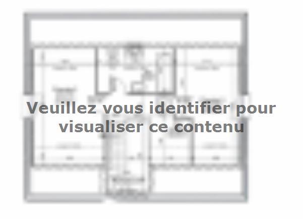 Plan de maison ETG_R_SG_86m2_3ch_P13141 : Vignette 2
