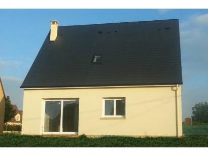 Modèle de maison ETG_R_SG_95m2_3ch_P13586 3 chambres  : Photo 1
