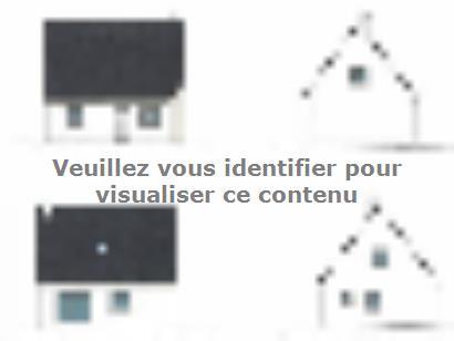 Plan de maison ETG_R_SG_95m2_3ch_P13586 3 chambres  : Photo 1