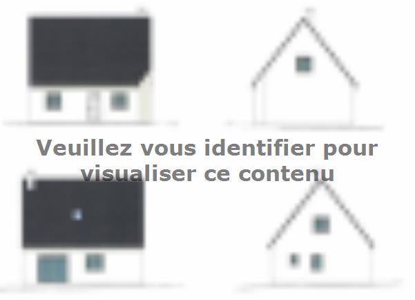 Plan de maison ETG_R_SG_95m2_3ch_P13586 : Vignette 1