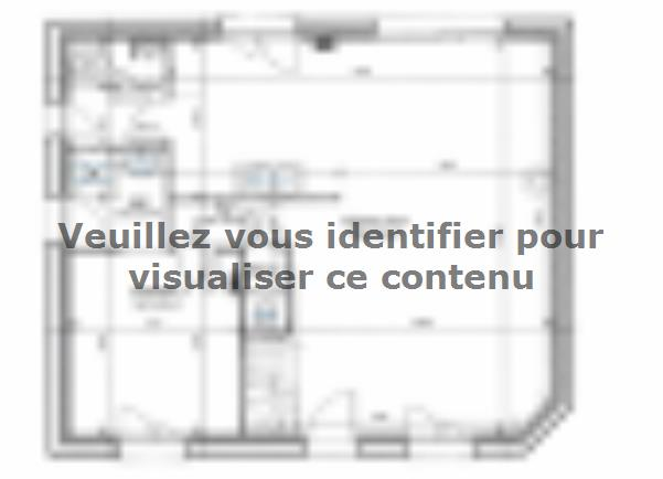 Plan de maison ETG_R_SG_95m2_3ch_P13586 : Vignette 2