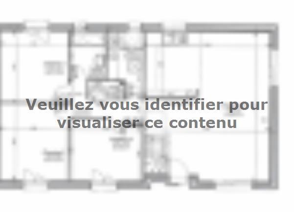 Plan de maison ETG_R_SG_CA_85m2_3ch_P13515 : Vignette 2