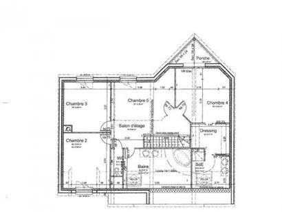 Modèle de maison ETG_R_SS_181m2_5ch_P12058 5 chambres  : Photo 3