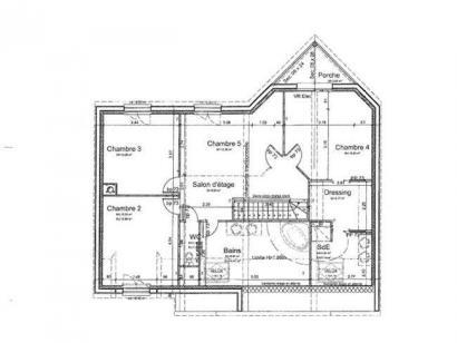 Modèle de maison ETG_R_SS_181m2_5ch_P12058 5 chambres  : Photo 4