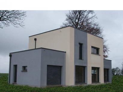 Modèle de maison ETG_TT_GA_115m2_3ch_P13826 3 chambres  : Photo 1