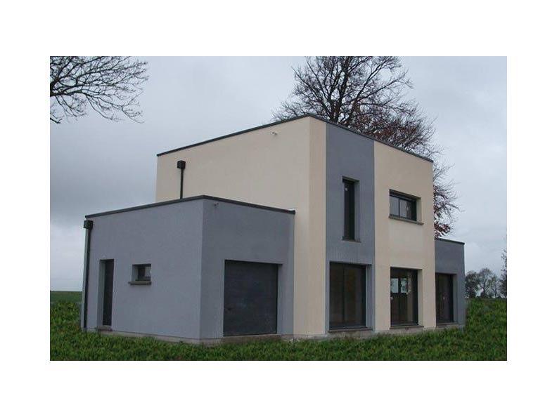 Modèle de maison ETG_TT_GA_115m2_3ch_P13826 : Vignette 1