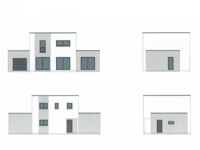 Plan de maison ETG_TT_GA_115m2_3ch_P13826 3 chambres  : Photo 1