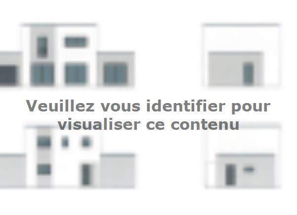 Plan de maison ETG_TT_GA_115m2_3ch_P13826 : Vignette 1