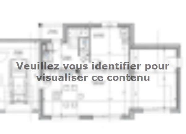 Plan de maison ETG_TT_GA_115m2_3ch_P13826 : Vignette 2