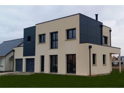 Modèle de maison ETG_TT_GI_143m2_4ch_P13374 4 chambres  : Photo 1