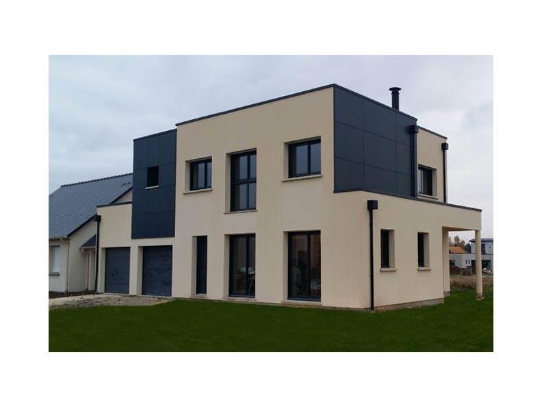 Modèle de maison ETG_TT_GI_143m2_4ch_P13374 : Vignette 1