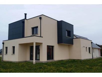 Modèle de maison ETG_TT_GI_143m2_4ch_P13374 4 chambres  : Photo 2