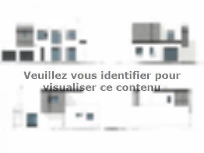 Plan de maison ETG_TT_GI_143m2_4ch_P13374 4 chambres  : Photo 1
