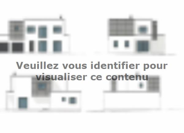 Plan de maison ETG_TT_GI_143m2_4ch_P13374 : Vignette 1