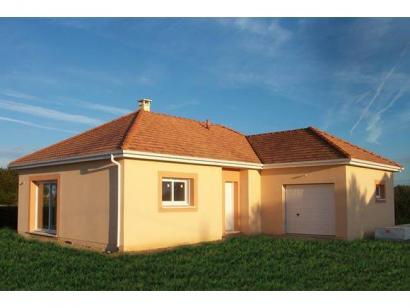 Modèle de maison PLP_L_GI_93m2_3ch_P13321 3 chambres  : Photo 1