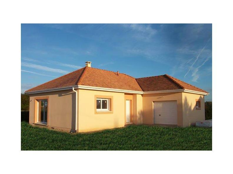 Modèle de maison PLP_L_GI_93m2_3ch_P13321 : Vignette 1