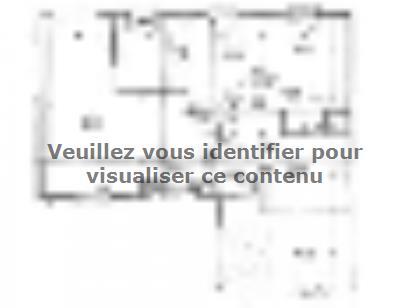 Plan de maison PLP_L_GI_93m2_3ch_P13321 3 chambres  : Photo 1